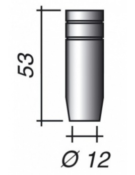 Plynová hubica Ø 12